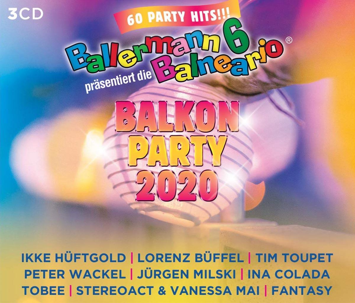 BALLERMANN 6 BALNEARIO PRÄS. DIE BALKON PARTY 2020